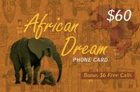 African Dream $60